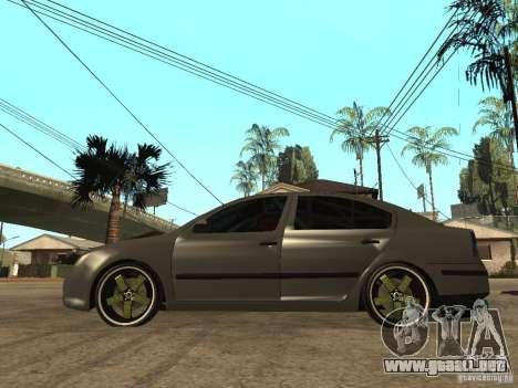 Skoda Octavia Custom Tuning para GTA San Andreas left