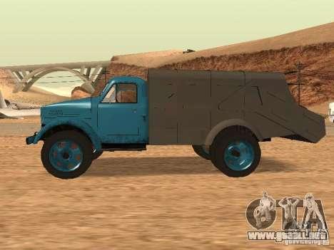 Camión GAZ 51 para GTA San Andreas left