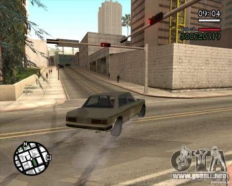 Nueva dirección pragmática para GTA San Andreas