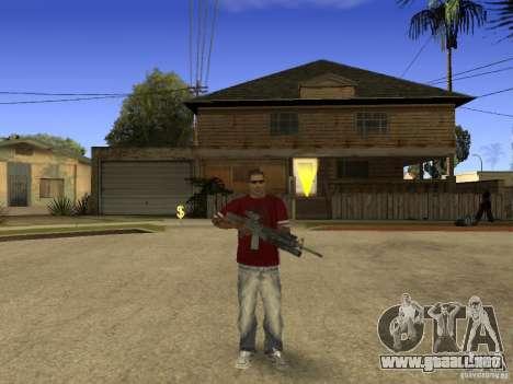 M4 Arma para GTA San Andreas tercera pantalla