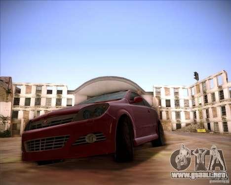Opel Astra Saturn para GTA San Andreas vista posterior izquierda