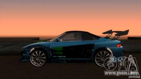 Toyota MR2 Drift para GTA San Andreas left