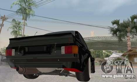 Ford Escort Mk2 para la visión correcta GTA San Andreas