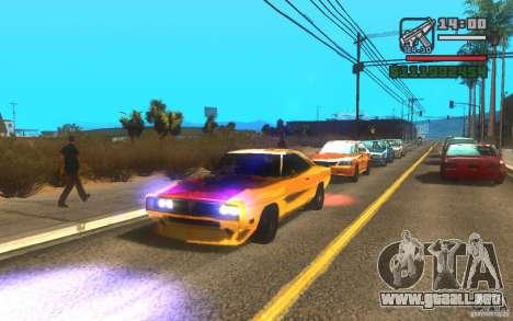 ENBSeries by Gasilovo v2 para GTA San Andreas segunda pantalla