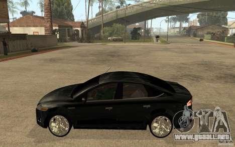 Ford Mondeo 2009 para GTA San Andreas left