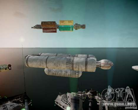 Stargate-Atlantis para GTA 4 sexto de pantalla