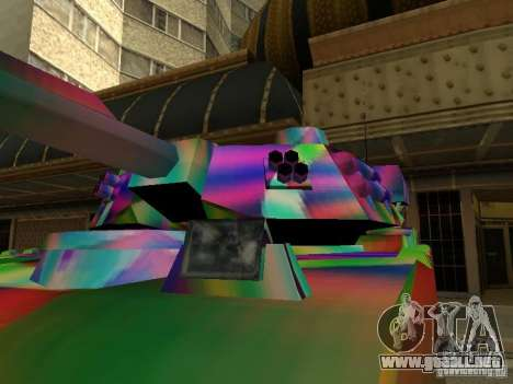Un tanque de color alegre para GTA San Andreas left