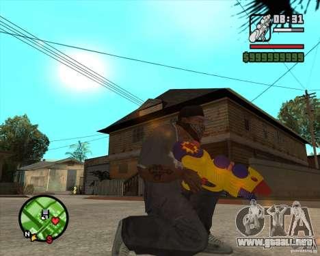 Pistola de agua para GTA San Andreas