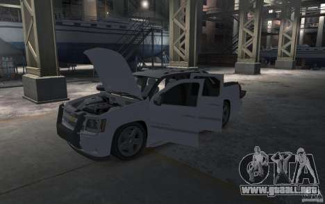 Chevrolet Avalanche v1.0 para GTA 4 vista lateral