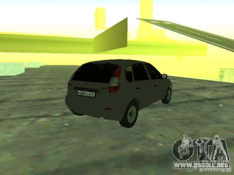 LADA 1119 Kalina Hatchback para GTA San Andreas left
