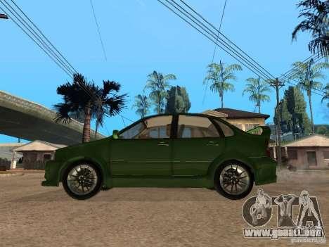 Lada Kalina Sport Tuning para GTA San Andreas left