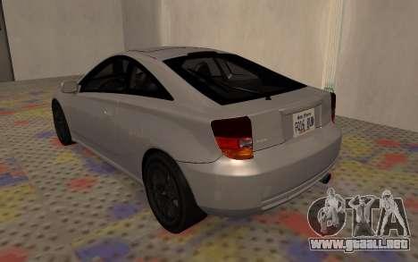 Toyota Celica 2JZ-GTE para la visión correcta GTA San Andreas