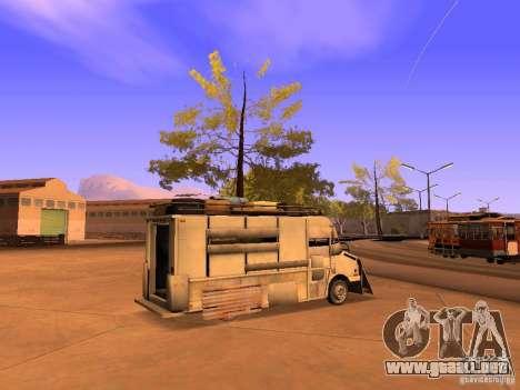 Monster Van para GTA San Andreas left
