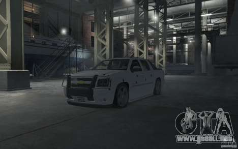 Chevrolet Avalanche v1.0 para GTA 4 interior