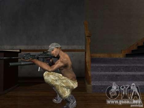 Sombreros de Call of Duty 4: Modern Warfare para GTA San Andreas sucesivamente de pantalla