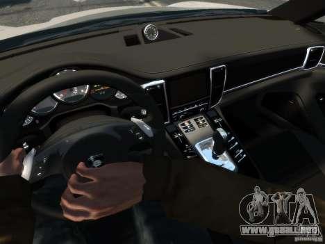 Gemballa Mistrale Concept 2011 para GTA 4 Vista posterior izquierda