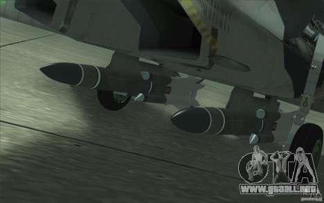 Su-35 BM v2.0 para el motor de GTA San Andreas