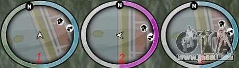 New GTA IV HUD 1 para GTA San Andreas segunda pantalla