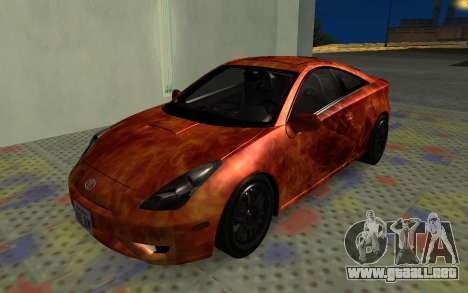 Toyota Celica 2JZ-GTE para vista lateral GTA San Andreas