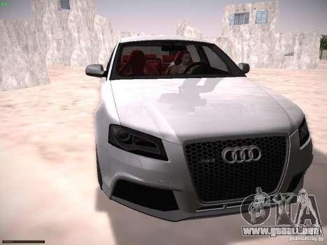 Audi RS3 2011 para GTA San Andreas