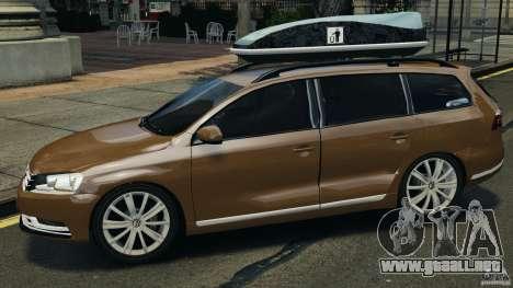 Volkswagen Passat Variant B7 para GTA 4 left