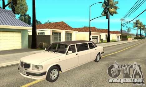 GAZ 3110 sedán para GTA San Andreas