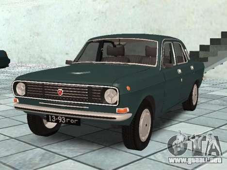 GAZ 24-10 v 2. para GTA San Andreas