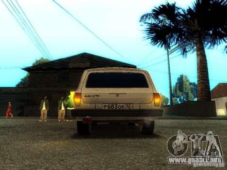 Versión GAZ VOLGA 310221 TUNING para GTA San Andreas vista hacia atrás
