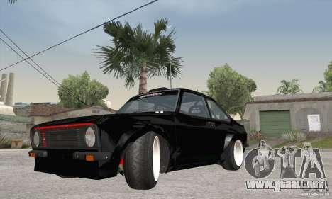 Ford Escort Mk2 para GTA San Andreas left