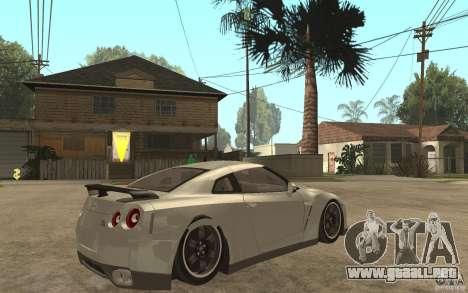Nissan GTR SpecV 2010 para GTA San Andreas