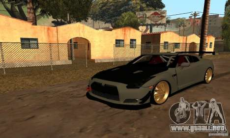Nissan GTR R35 Tuning para GTA San Andreas