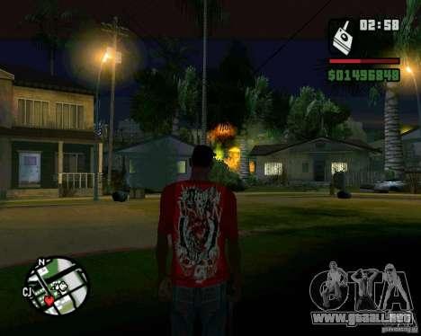 Bomba para GTA San Andreas séptima pantalla