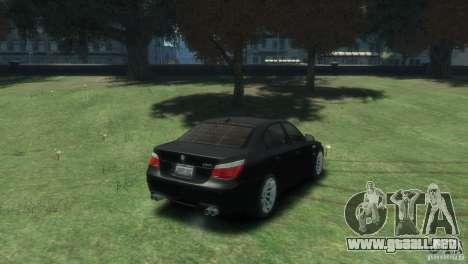 BMW M5 para GTA 4 visión correcta