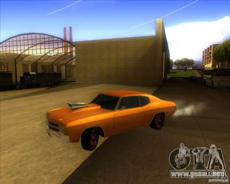 Chevy Chevelle SS Hell 1970 para GTA San Andreas
