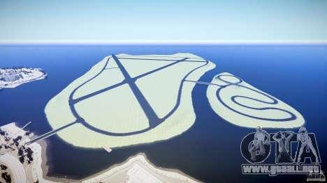 Top Gear Map para GTA 4