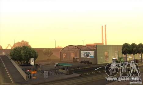 BUSmod para GTA San Andreas quinta pantalla