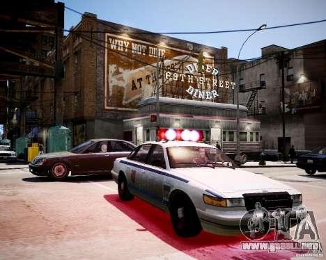 Russian Police Cruiser para GTA 4 visión correcta