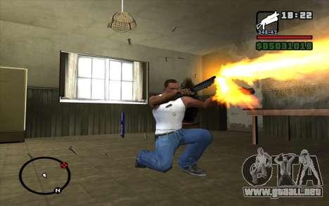 PP-19 Bizon para GTA San Andreas sucesivamente de pantalla