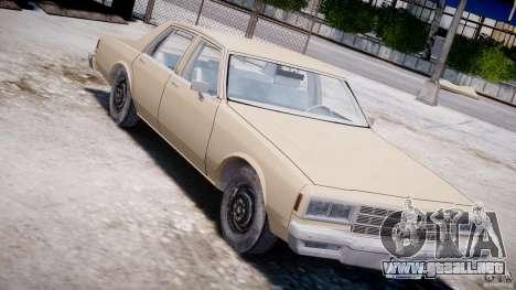 Chevrolet Impala 1983 para GTA 4