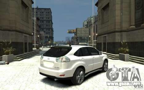 Lexus RX 400h para GTA 4 visión correcta