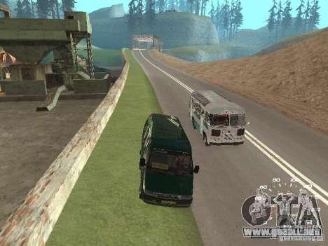 GAZ 32213 para visión interna GTA San Andreas