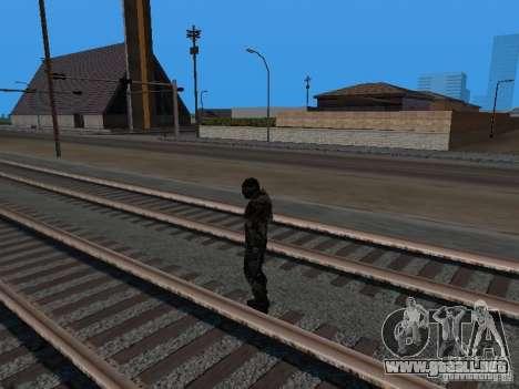 Crysis Nano Suit para GTA San Andreas sexta pantalla