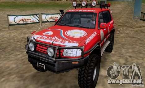 Toyota Land Cruiser 100 Off-Road para GTA San Andreas