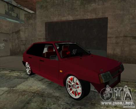 VAZ 2109 Drift para GTA San Andreas left
