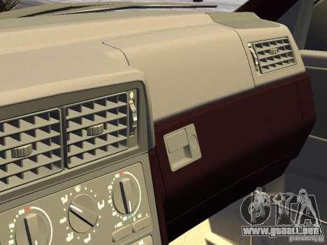 Volvo 850 R 1996 Rims 1 para GTA 4 vista interior