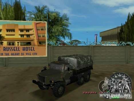 Ural 4320 Military para GTA Vice City
