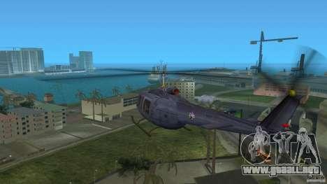 Maverick Bell-Huey para GTA Vice City visión correcta