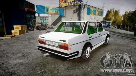 Volkswagen Jetta 1981 para GTA 4 vista interior