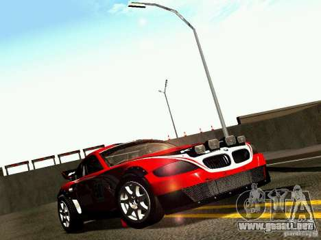BMW Z4 Rally Cross para el motor de GTA San Andreas