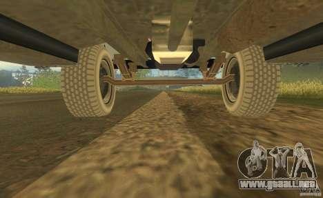 ZIL 164 Tractor para la vista superior GTA San Andreas